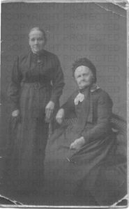 A photograph of Ann Elizabeth and Ann - mother of William/Richard