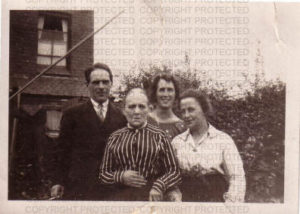 Ann Elizabeth Granger and three of her children