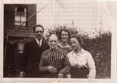 Ann Elizabeth Granger  and three of her children