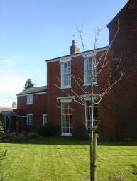 High House - one of the oldest and tallest houses in Walcote, now a B&B.