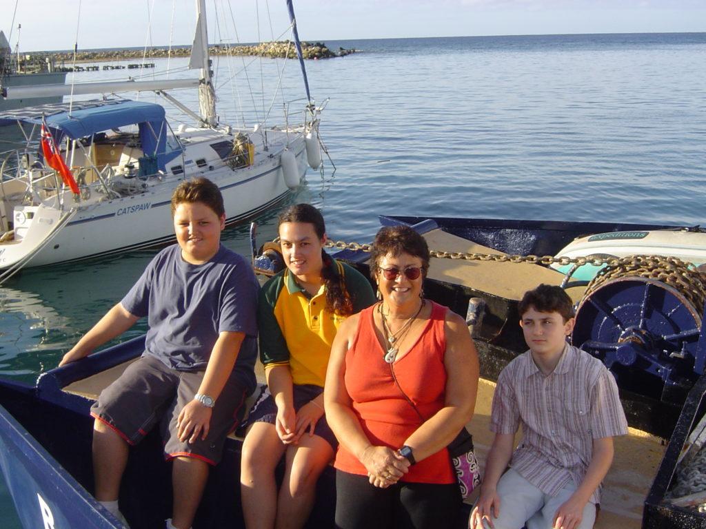 Preparing to Leave from Avatiu Harbour