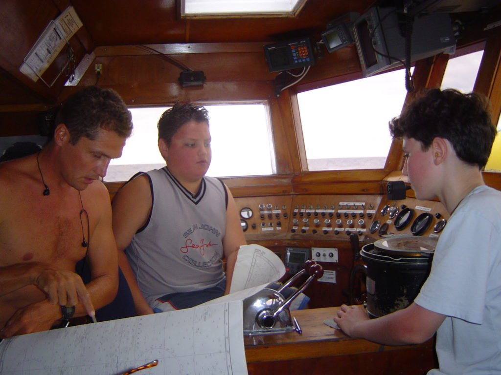 Navigation Lessons with Hoop - also the cook