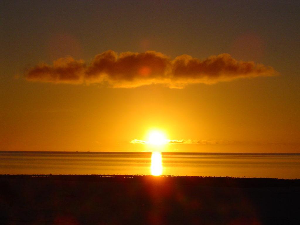 An amazing sunset  from Bird Islet