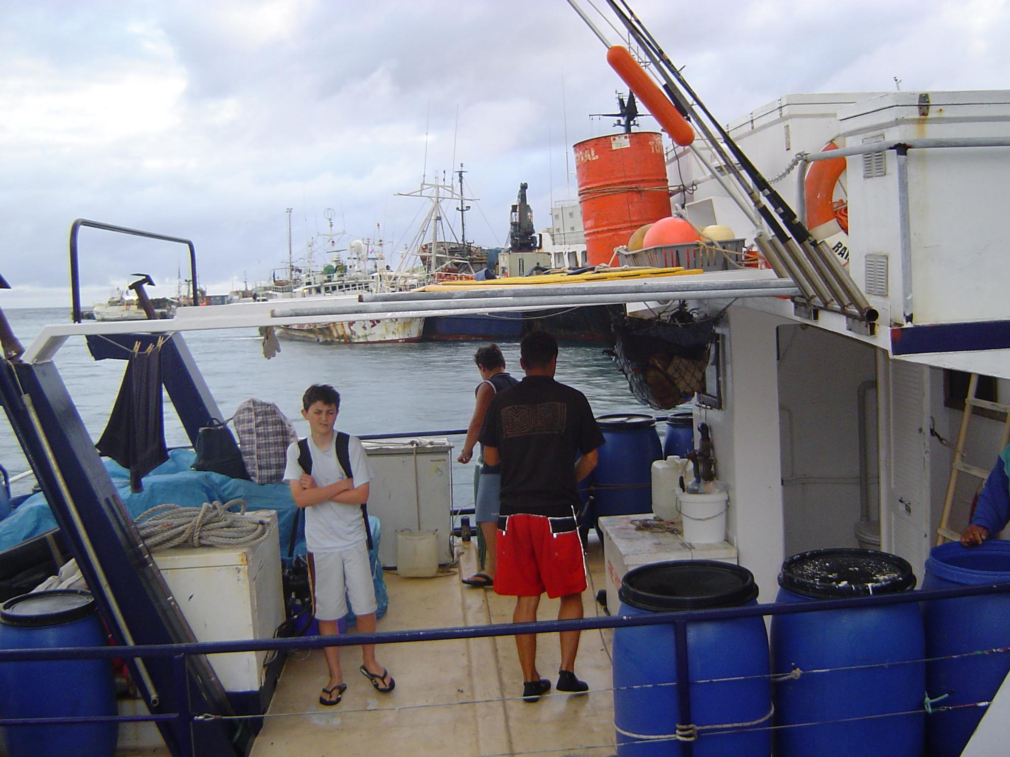 Finally back on Rarotonga