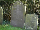 The headstone of Joel Masters, Richard's brother, who died at the age of 12 of rheumatic fever