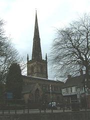 John and Ann Masters were married at St Mary de Castro in Leicester City, in 1827