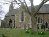 St Nicholas's in Mowsley was where Richard's g/grandparents Joseph and Ann Masters were wed in 1806