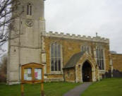 St Andrew's in Twyford  was the church attended by Ann Armstone's family
